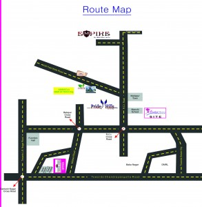 orchidRoute Map